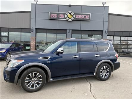 2018 Nissan Armada SL (Stk: 3754DO) in Thunder Bay - Image 1 of 18