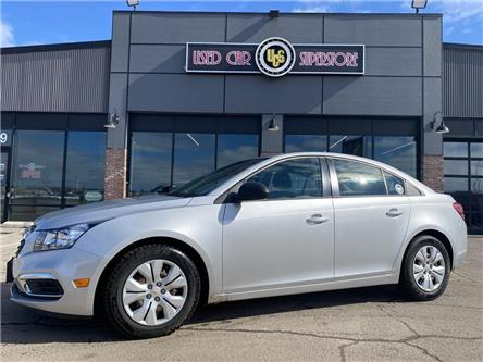 2016 Chevrolet Cruze Limited 2LS (Stk: UC3891) in Thunder Bay - Image 1 of 9