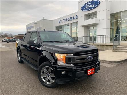 2018 Ford F-150 XLT (Stk: T9809A) in St. Thomas - Image 1 of 26