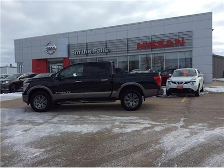2019 Nissan Titan Platinum (Stk: 19-227) in Smiths Falls - Image 1 of 12