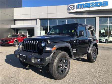 2019 Jeep Wrangler Sport (Stk: P4292) in Surrey - Image 1 of 15
