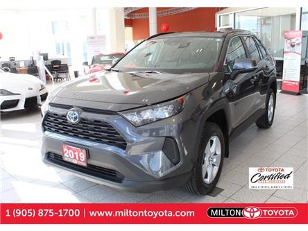 2019 Toyota RAV4 Hybrid LE (Stk: 014877) in Milton - Image 1 of 37