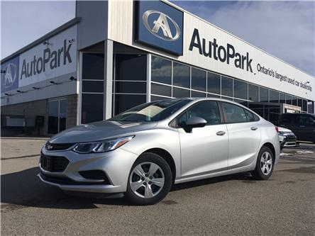 2018 Chevrolet Cruze L Manual (Stk: 18-64593JB) in Barrie - Image 1 of 24