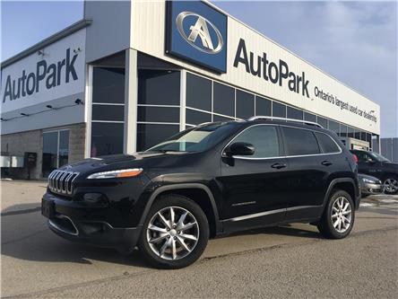 2018 Jeep Cherokee Limited (Stk: 18-90038JB) in Barrie - Image 1 of 27