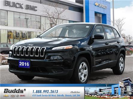 2016 Jeep Cherokee Sport (Stk: SB0005T) in Oakville - Image 1 of 25