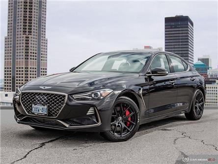 2020 Genesis G70 3.3T Sport (Stk: 90518) in London - Image 1 of 27
