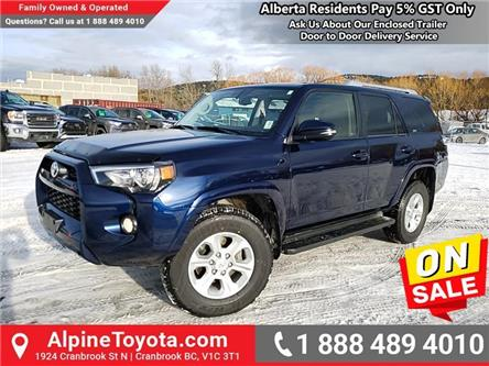 2018 Toyota 4Runner SR5 (Stk: 5539616M) in Cranbrook - Image 1 of 26