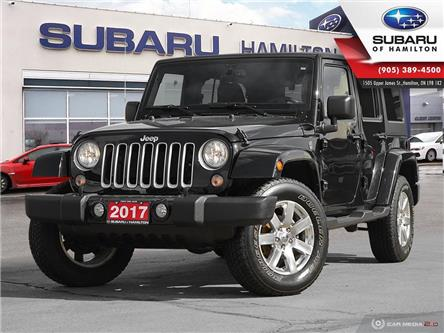 2017 Jeep Wrangler Unlimited Sahara (Stk: S8224A) in Hamilton - Image 1 of 27