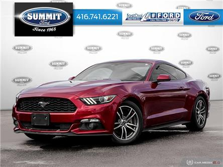 2017 Ford Mustang EcoBoost Premium (Stk: 16D1189A) in Toronto - Image 1 of 27