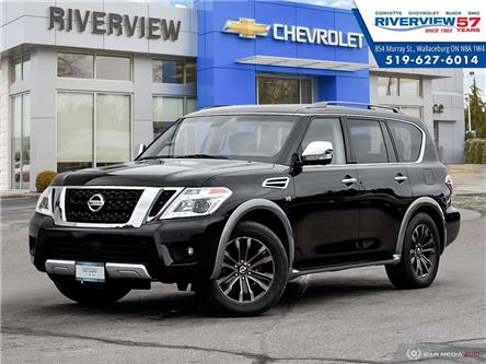 2017 Nissan Armada Platinum (Stk: 18525A) in WALLACEBURG - Image 1 of 27