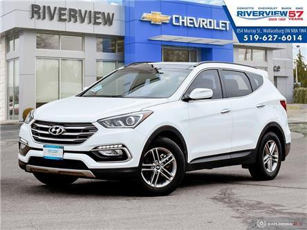 2017 Hyundai Santa Fe Sport 2.4 SE (Stk: 19209A) in WALLACEBURG - Image 1 of 27