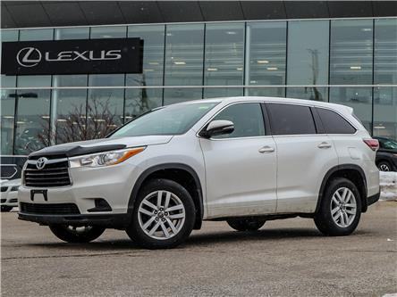 2016 Toyota Highlander LE (Stk: 12903G) in Richmond Hill - Image 1 of 23