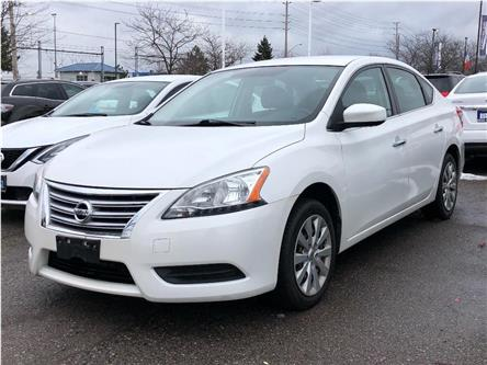 2014 Nissan Sentra SV | CERTIFIED | NO ACCIDENTS (Stk: P0666) in Mississauga - Image 1 of 15