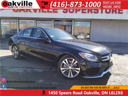 2017 Mercedes-Benz C-Class 4MATIC | NAVI | PANO ROOF | LEATHER | BLUETOOTH (Stk: P0025) in Oakville - Image 1 of 31