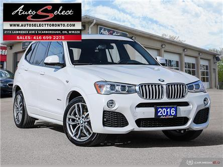 2016 BMW X3 xDrive28i (Stk: 16X3M97) in Scarborough - Image 1 of 30