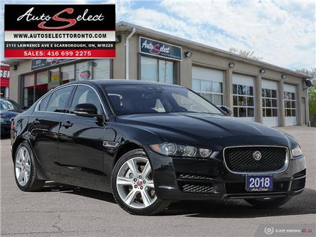 2018 Jaguar XE 25t Prestige (Stk: 1JG4T23) in Scarborough - Image 1 of 30