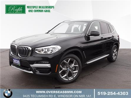 2020 BMW X3 xDrive30i (Stk: B8113) in Windsor - Image 1 of 24