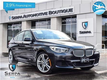 2015 BMW 550i xDrive Gran Turismo (Stk: P1050) in Aurora - Image 1 of 28