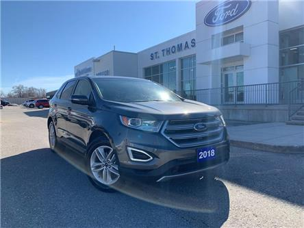 2018 Ford Edge SEL (Stk: A6897B) in St. Thomas - Image 1 of 27