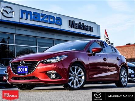 2016 Mazda Mazda3 Sport GT (Stk: D5200117A) in Markham - Image 1 of 29