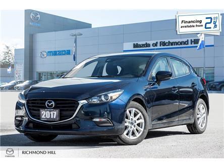 2017 Mazda Mazda3 Sport GS (Stk: 20-241A) in Richmond Hill - Image 1 of 20