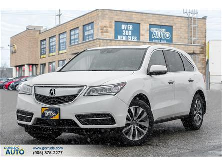 2016 Acura MDX Navigation Package (Stk: 507477) in Milton - Image 1 of 21