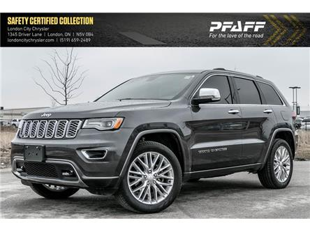 2018 Jeep Grand Cherokee Overland (Stk: LC2169A) in London - Image 1 of 22