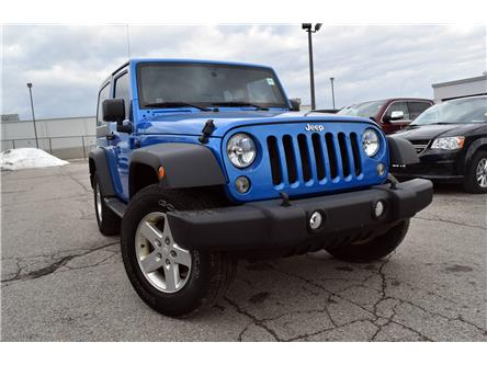 2015 Jeep Wrangler Sport (Stk: 48110) in St. Thomas - Image 1 of 30