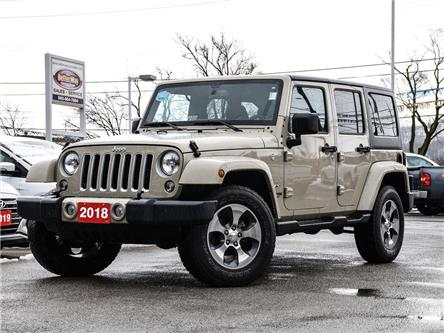 2018 Jeep Wrangler JK Unlimited Sahara| 4x4| Heated seats| Navi (Stk: 5524) in Stoney Creek - Image 1 of 21