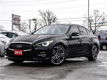 2015 Infiniti Q50 AWD|360DegreeCAM|NAVIGATION|LEATHER|BLUETOOTH (Stk: 5621) in Stoney Creek - Image 1 of 24