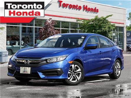 2017 Honda Civic Sedan LX (Stk: H40101L) in Toronto - Image 1 of 27