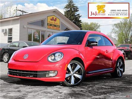 2013 Volkswagen Beetle Super Beetle (Stk: J2023) in Brandon - Image 1 of 27