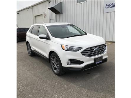 2020 Ford Edge Titanium (Stk: LBA52614) in Wallaceburg - Image 1 of 16