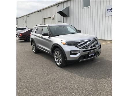 2020 Ford Explorer Platinum (Stk: LGB88150) in Wallaceburg - Image 1 of 17