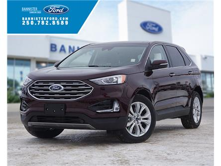 2020 Ford Edge Titanium (Stk: S202015) in Dawson Creek - Image 1 of 16