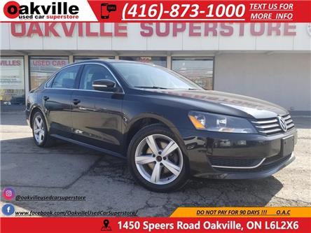 2015 Volkswagen Passat LEATHER I SUNROOF I B/U CAM I HTD MIRRORS I LOW KM (Stk: P0023) in Oakville - Image 1 of 26