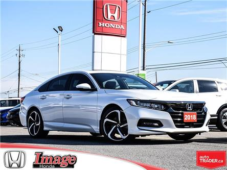 2018 Honda Accord Sport (Stk: 10A481A) in Hamilton - Image 1 of 21
