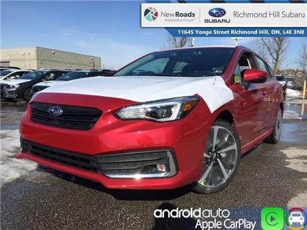 2020 Subaru Impreza 5-dr Sport-tech w/Eyesight (Stk: 34398) in RICHMOND HILL - Image 1 of 23