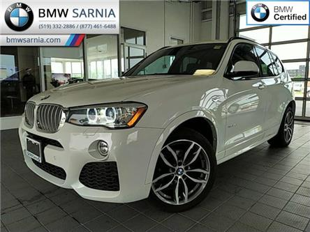 2016 BMW X3 xDrive35i (Stk: XU230) in Sarnia - Image 1 of 20