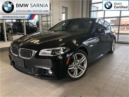 2016 BMW 5 Series 535i xDrive AWD (Stk: BU705) in Sarnia - Image 1 of 21