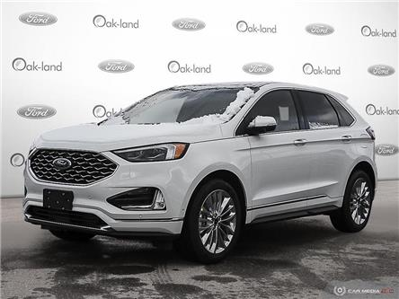 2020 Ford Edge Titanium (Stk: 0D014) in Oakville - Image 1 of 25