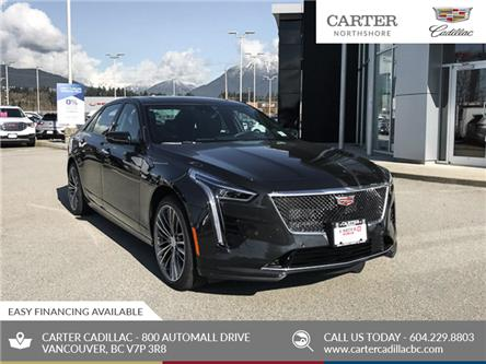 2020 Cadillac CT6-V 4.2L Blackwing Twin Turbo (Stk: D78660) in North Vancouver - Image 1 of 24