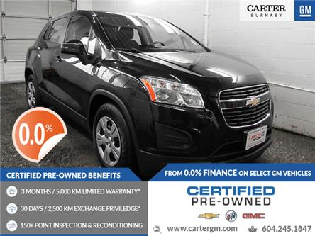 2014 Chevrolet Trax LS (Stk: P9-60460) in Burnaby - Image 1 of 21