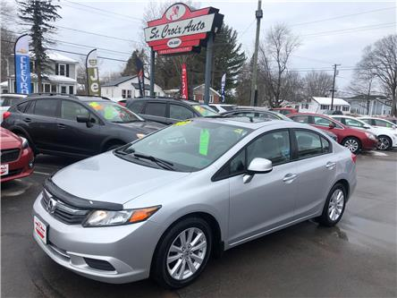 2012 Honda Civic EX (Stk: 45131a) in Fredericton - Image 1 of 7