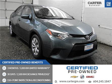 2014 Toyota Corolla LE (Stk: T4-27101) in Burnaby - Image 1 of 24