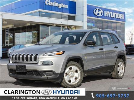 2015 Jeep Cherokee Sport (Stk: 19937A) in Clarington - Image 1 of 27