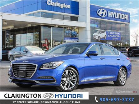 2020 Genesis G80 3.8 Technology (Stk: U1048) in Clarington - Image 1 of 27