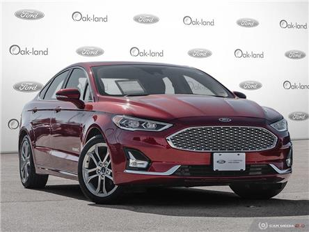 2019 Ford Fusion Hybrid Titanium (Stk: A3176) in Oakville - Image 1 of 27