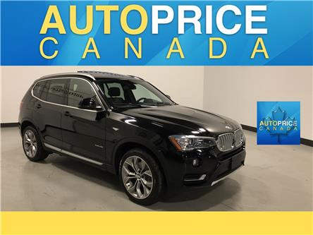 2017 BMW X3 xDrive28i (Stk: W0907) in Mississauga - Image 1 of 28