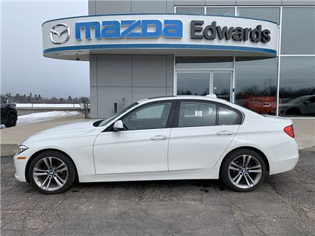2014 BMW 320i xDrive (Stk: 22227) in Pembroke - Image 1 of 11